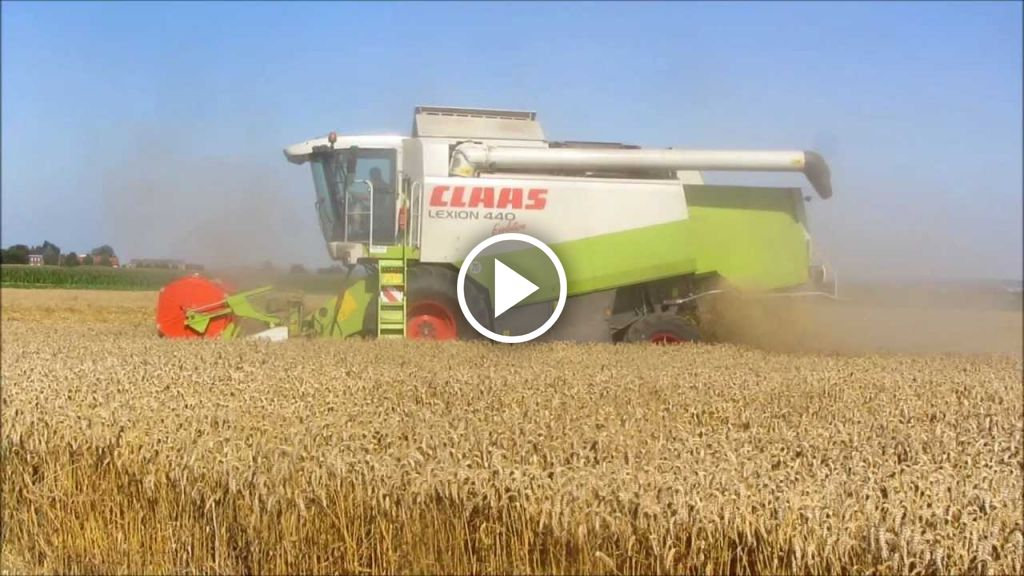 Video Claas Lexion 440 Evolution