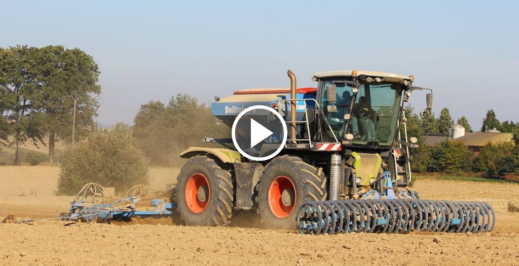 Video Claas Xerion Saddle Trac