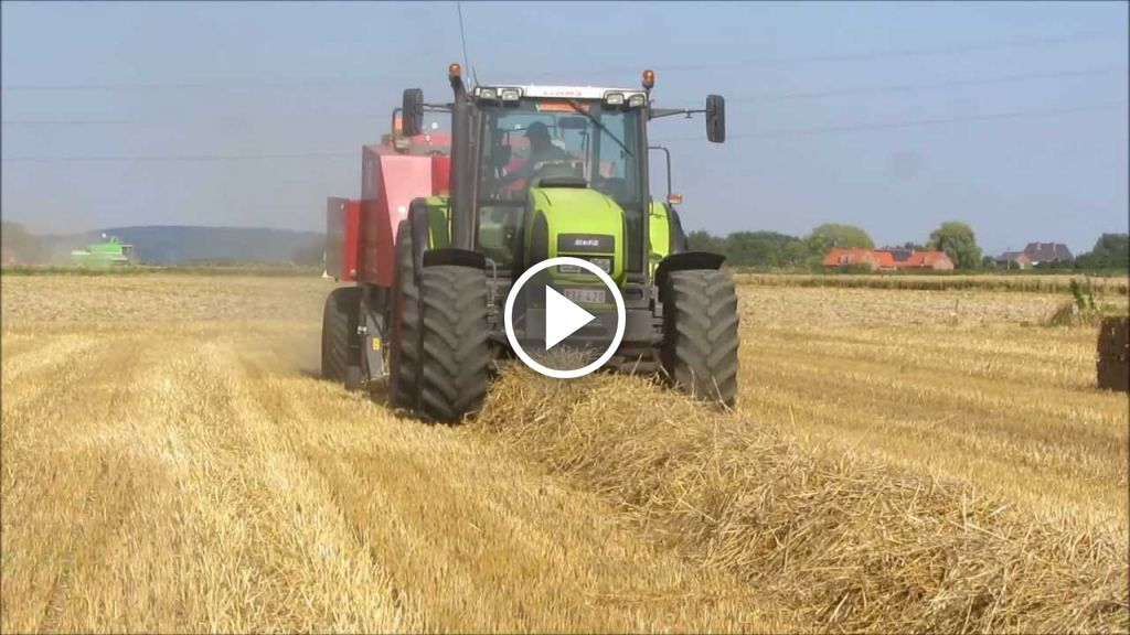 Video Claas Ares 836