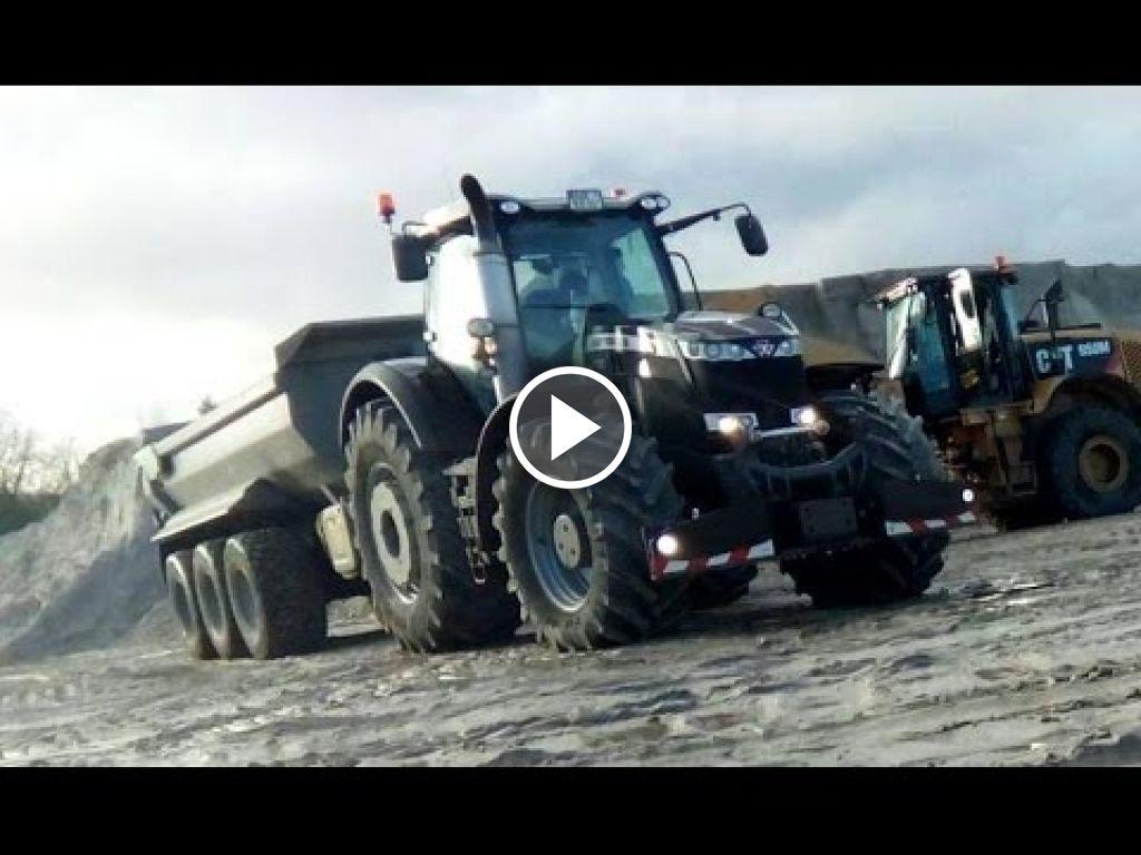 Vidéo Massey Ferguson 8400 Serie