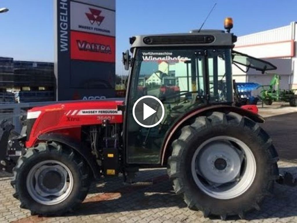 Video Massey Ferguson 3640