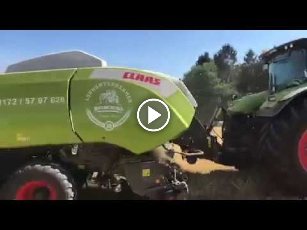 Video Claas Axion 830