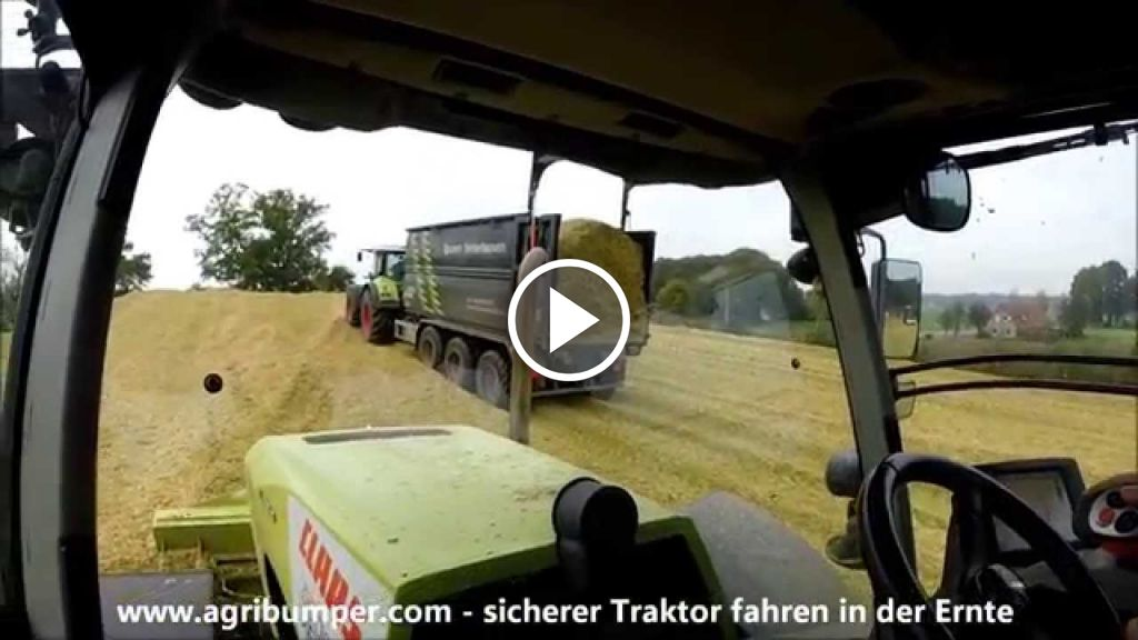 Video Claas Axion 930