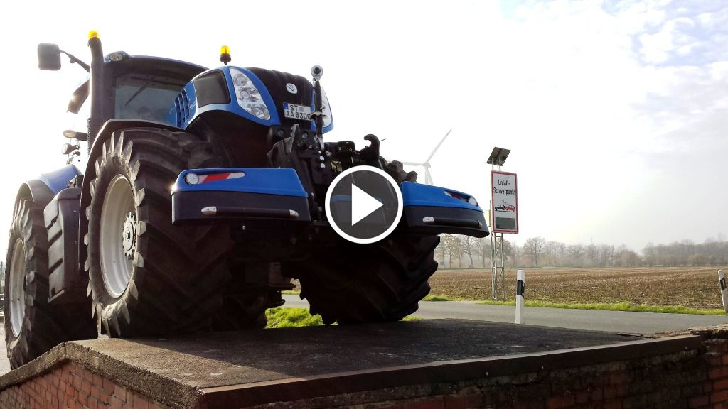 Video New Holland T 8.300