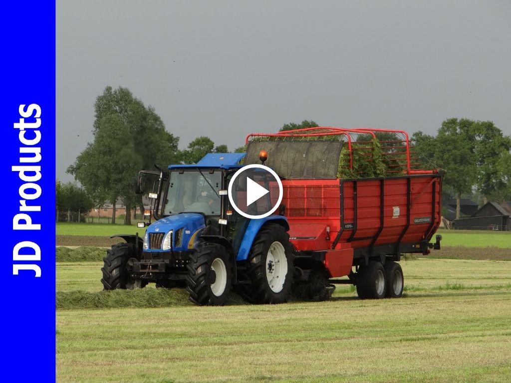 Video New Holland TL 80 A