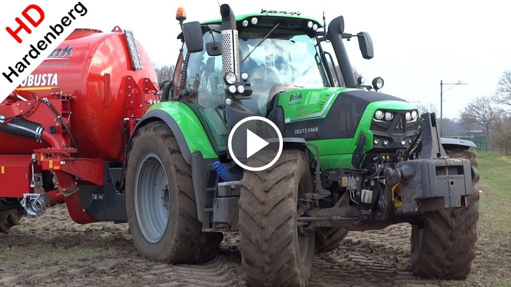 Video Deutz-Fahr Agrotron 6190 TTV