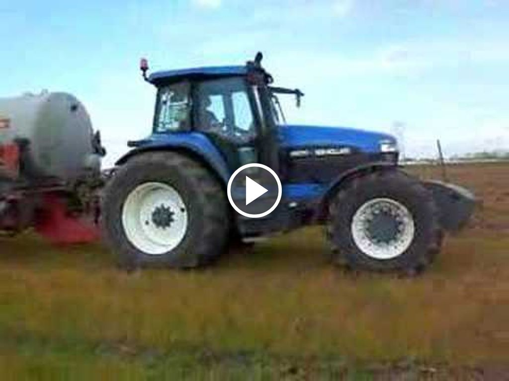 Video New Holland 8670 A