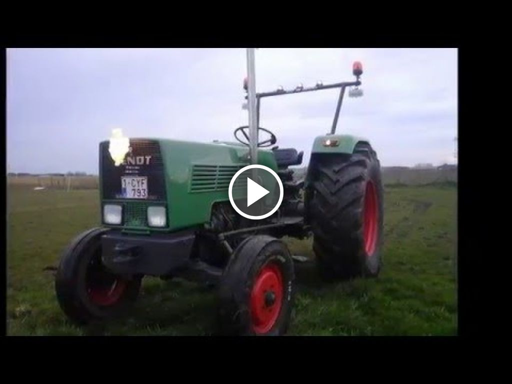 Video Fendt Farmer 2 S