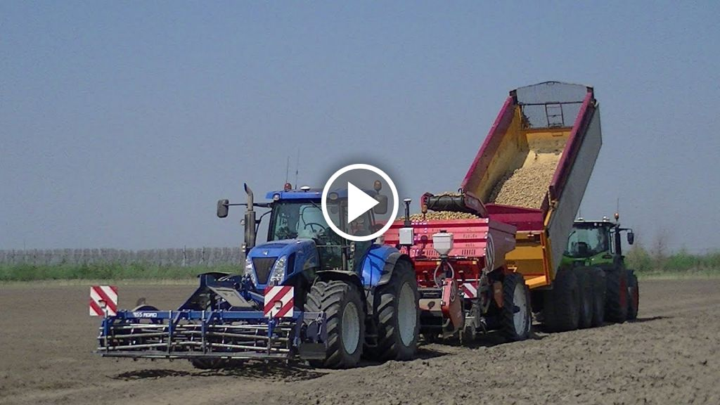 Video New Holland T7060