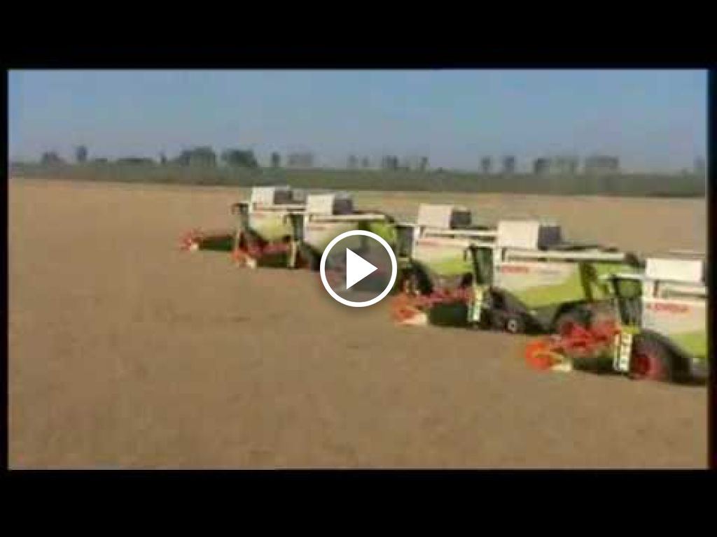 Video Claas Lexion 560