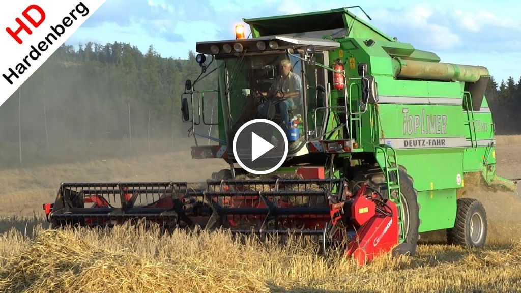 Video Deutz-Fahr Topliner 4075 HTS