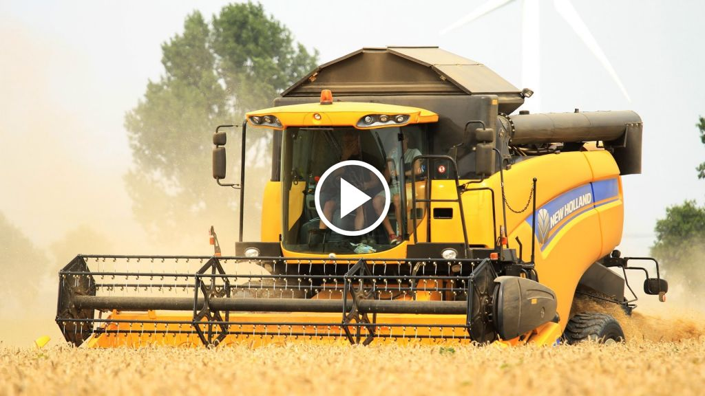 Video New Holland CX 5080