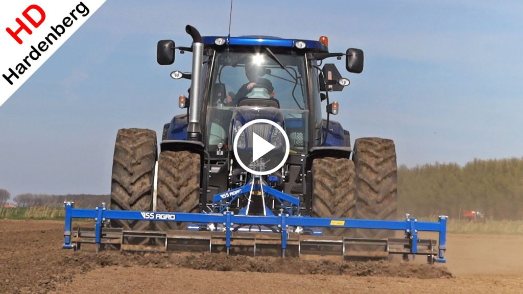 Video New Holland T 6.160