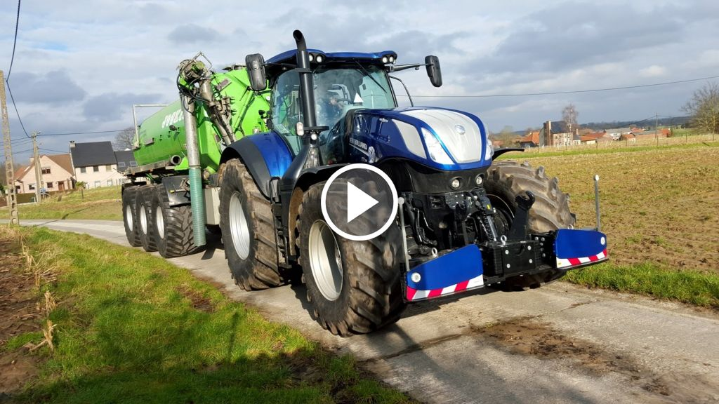 Video New Holland T 7.315