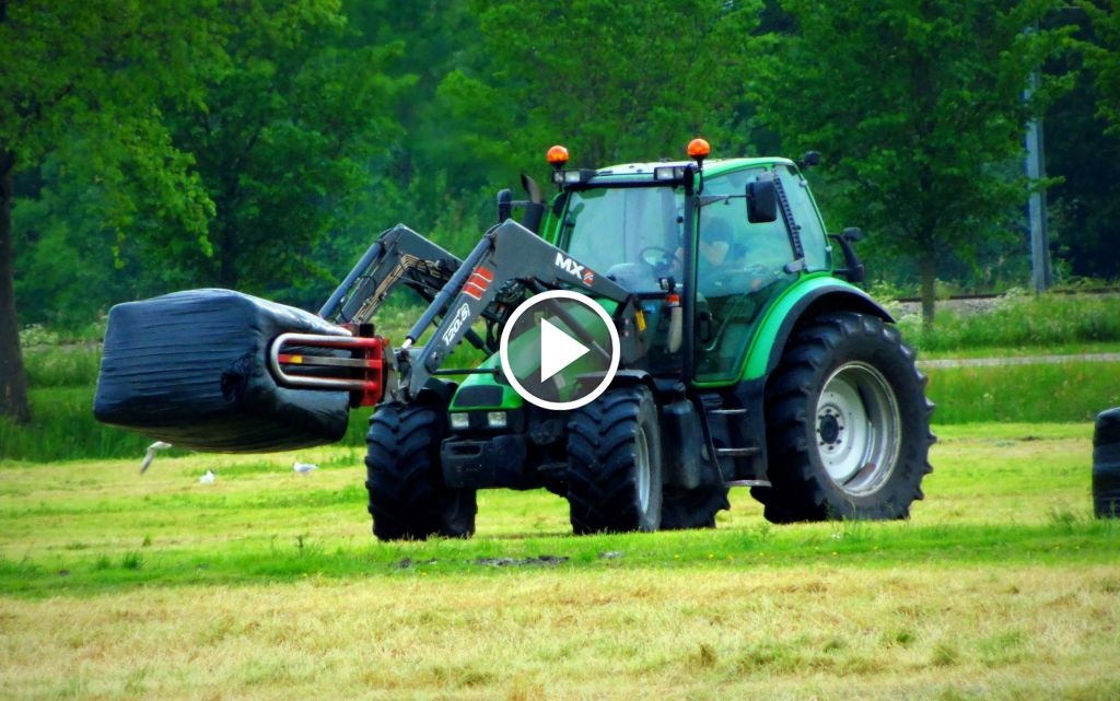 Video Deutz-Fahr Agrotron 6.00