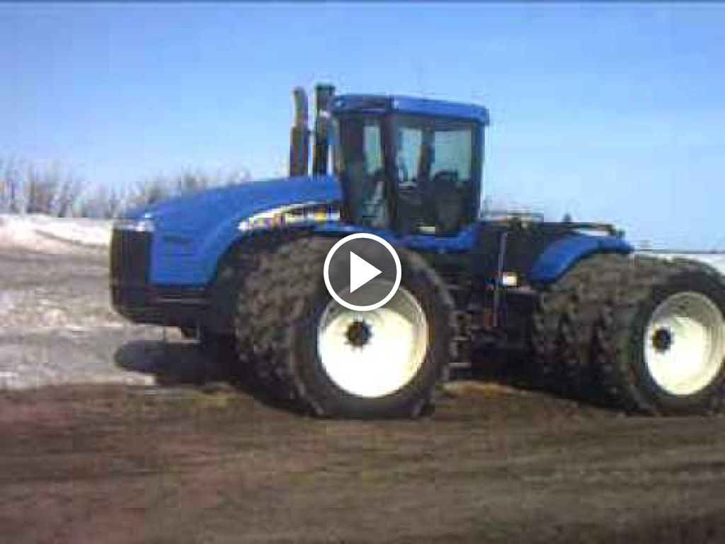 Video New Holland TJ 500