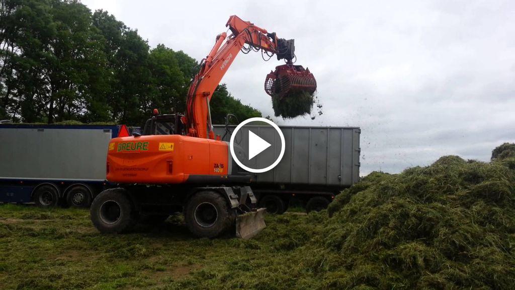 Wideo Hitachi Zaxis 145W