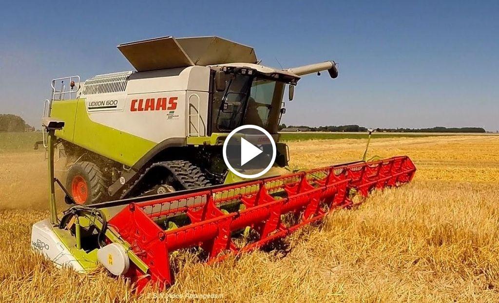 Video Claas Lexion 600