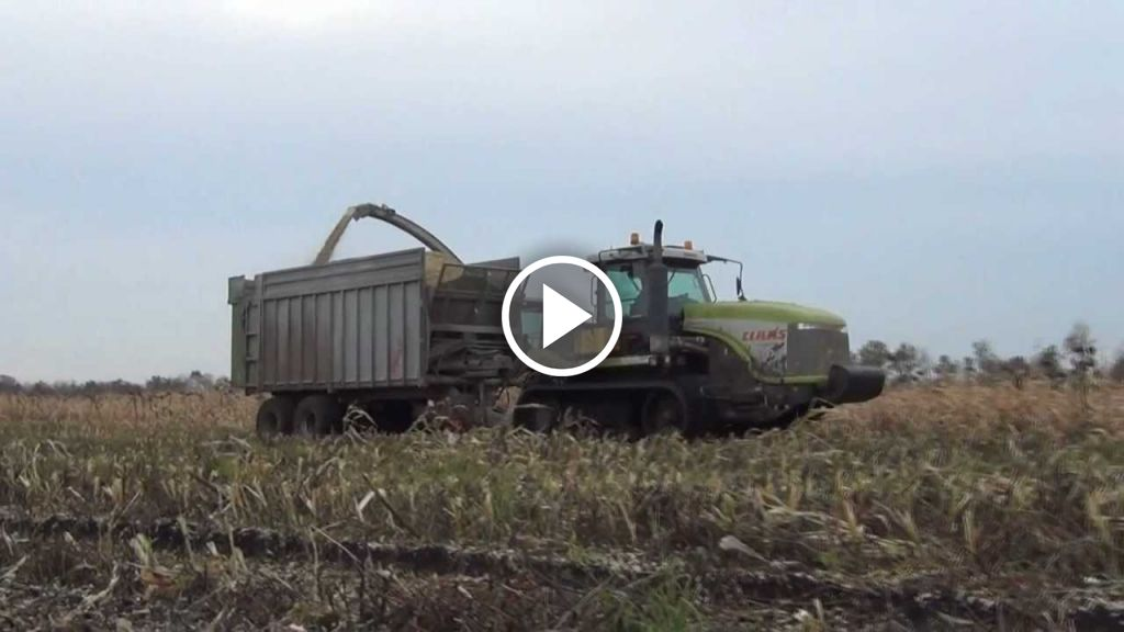 Video Claas Challenger 95E
