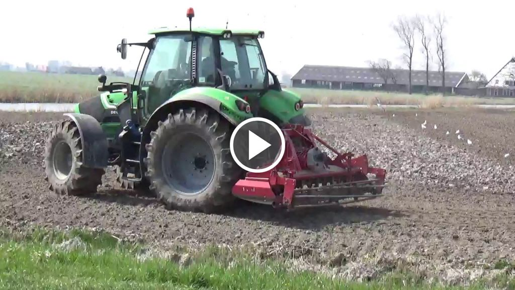 Video Deutz-Fahr Agrotron 6140