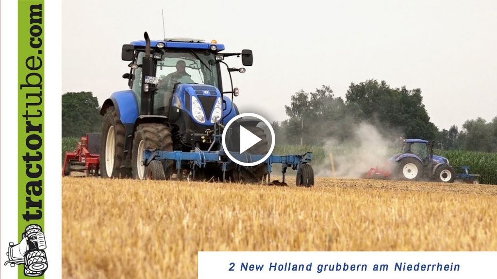 Video New Holland T 6090