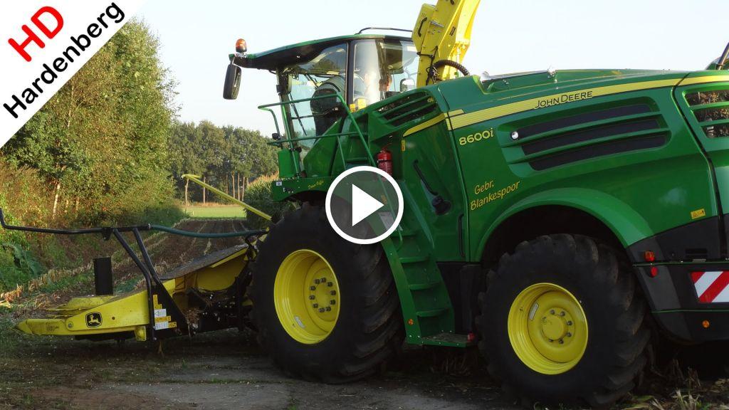 Wideo John Deere 8600i
