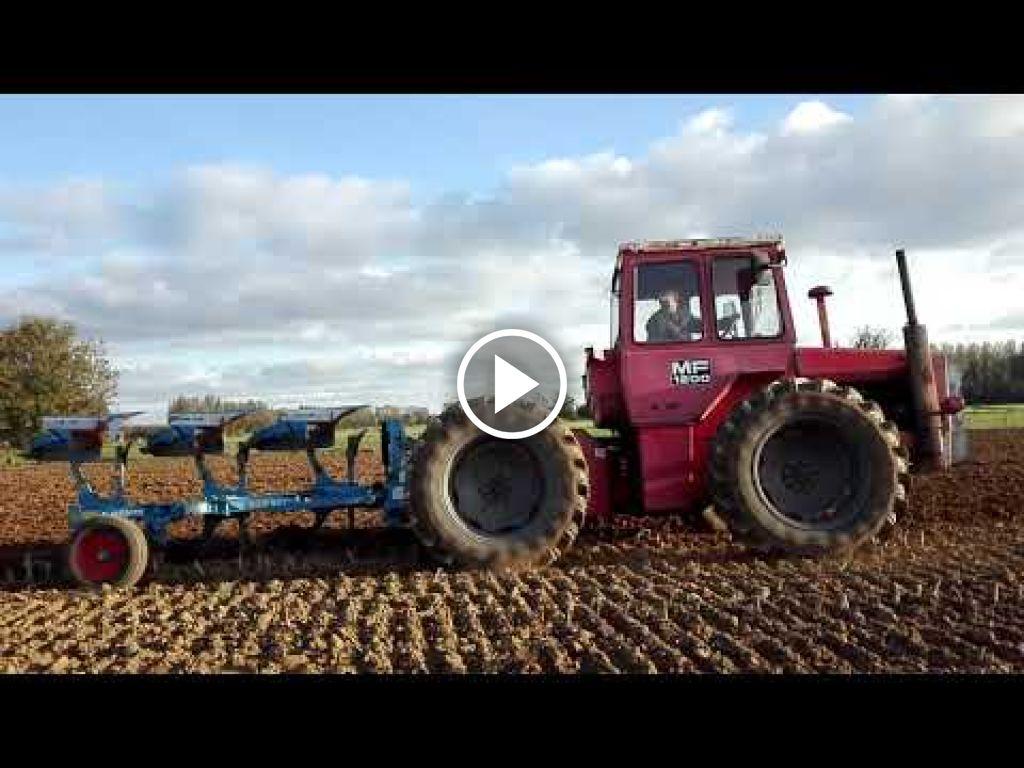Vidéo Massey Ferguson 1200