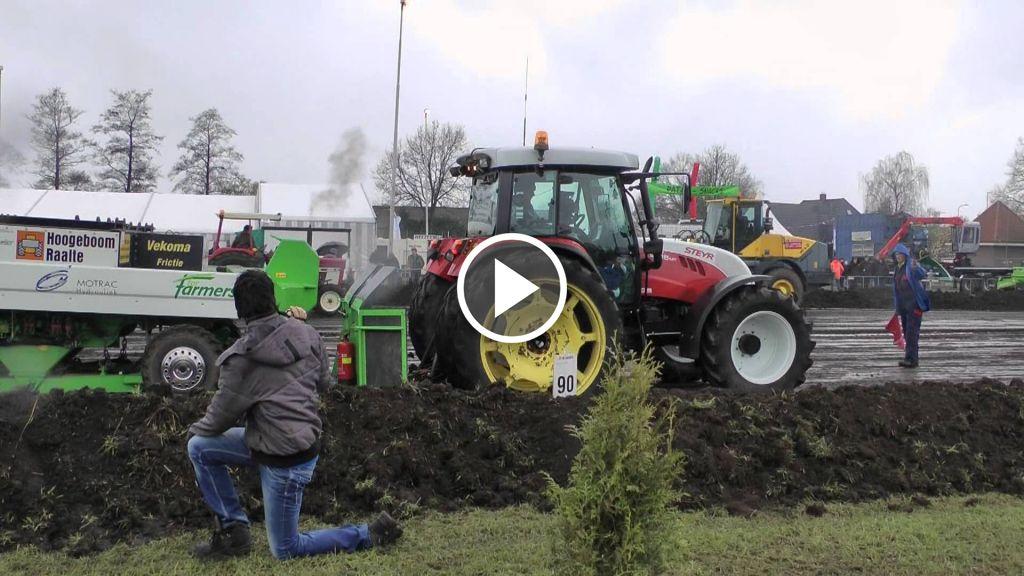 Videó Steyr 9105MT