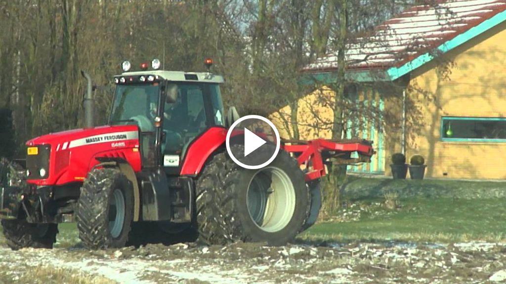 Vidéo Massey Ferguson 6485