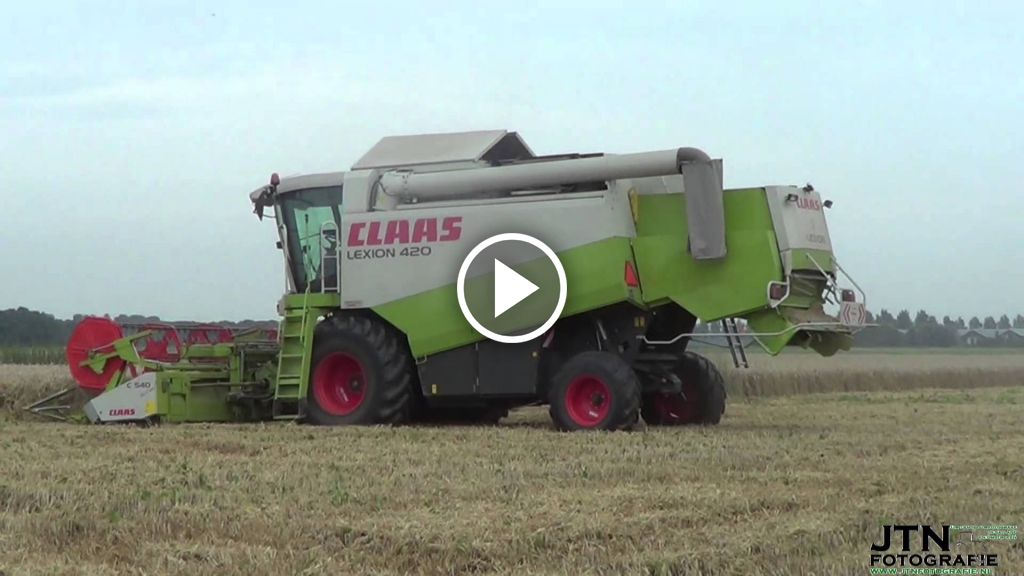 Video Claas Lexion 420
