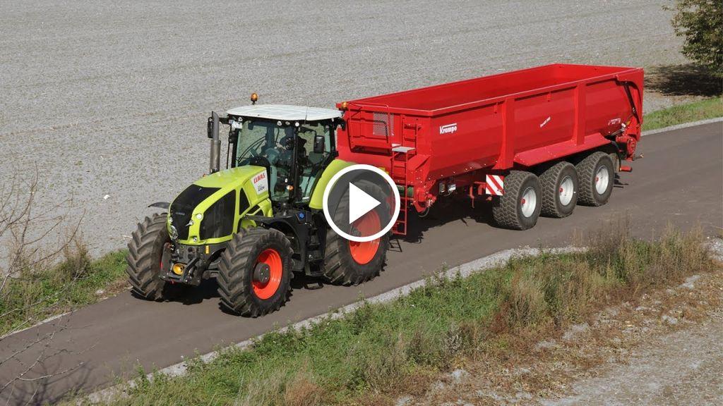 Video Claas Axion 900