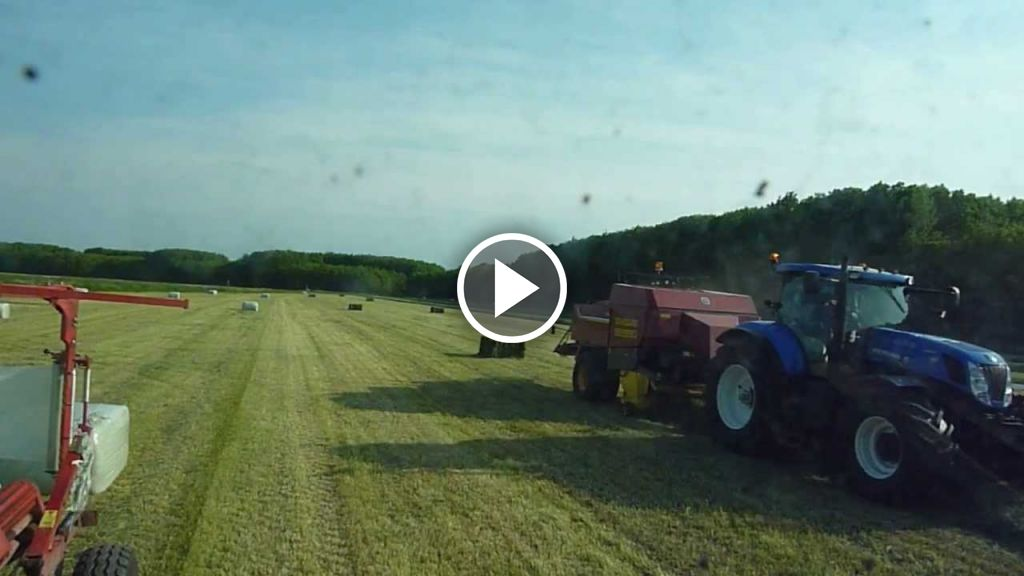 Video New Holland T 7.220