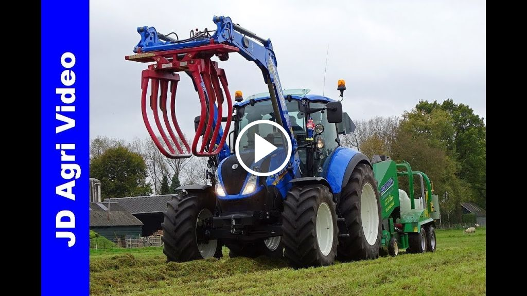 Video New Holland T 5.110