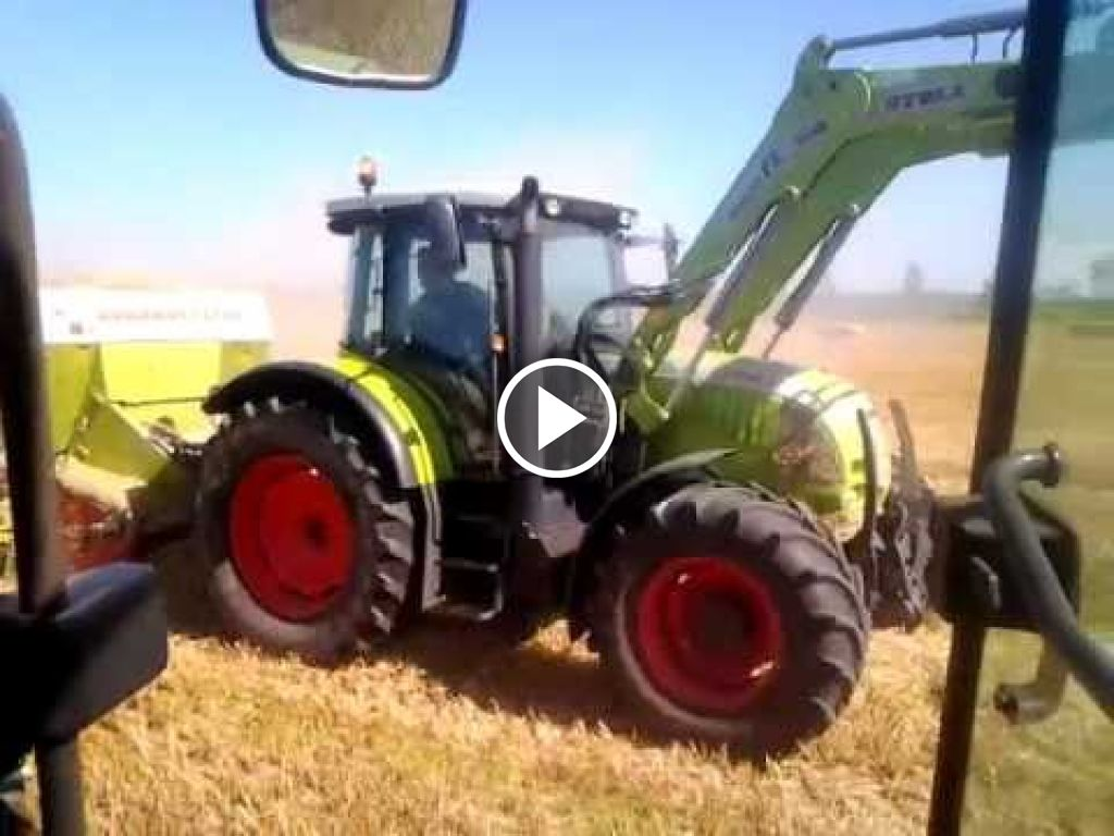 Video Claas Ares 697 ATZ