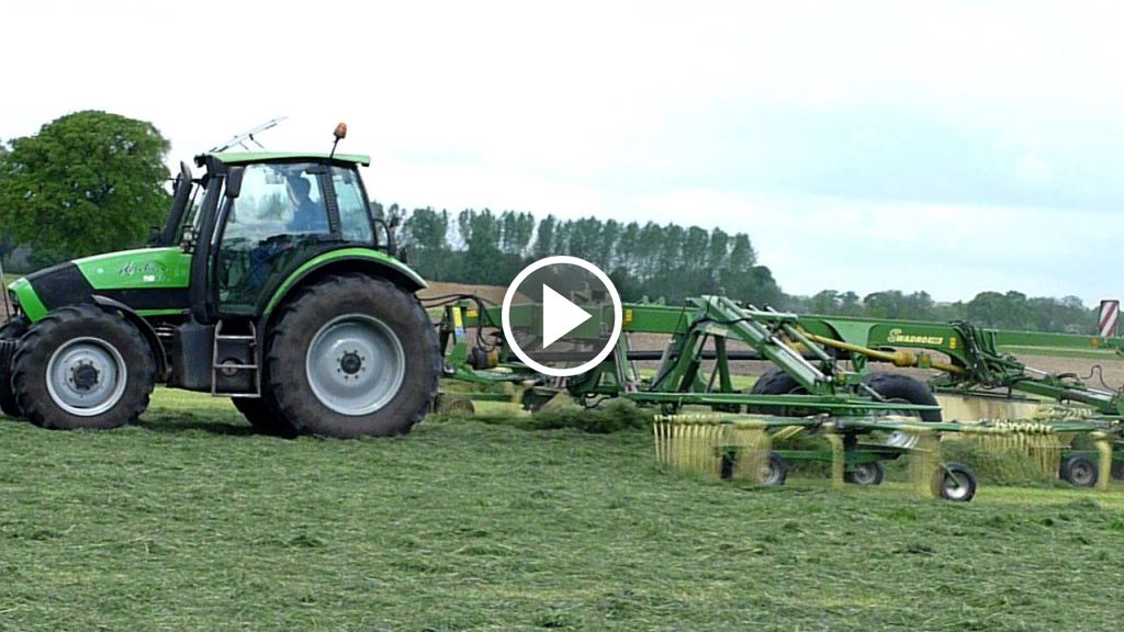 Video Deutz-Fahr Agrotron 118
