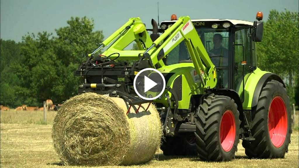 Video Claas Arion 400