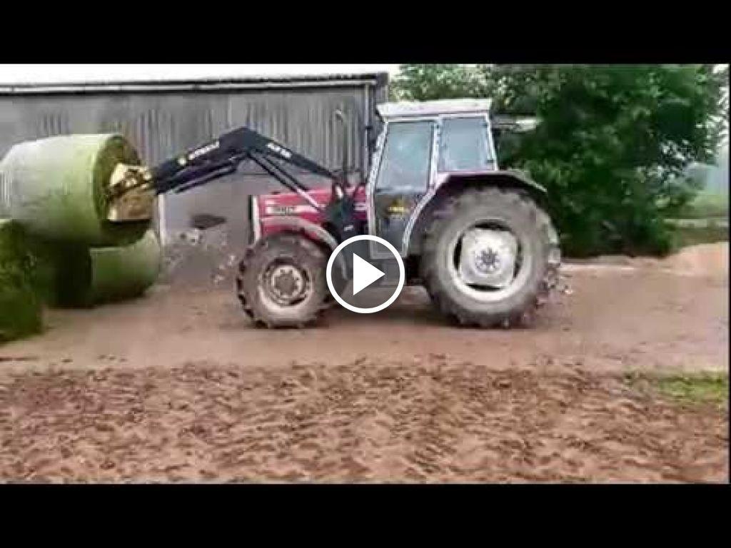 Vidéo Massey Ferguson 390 T