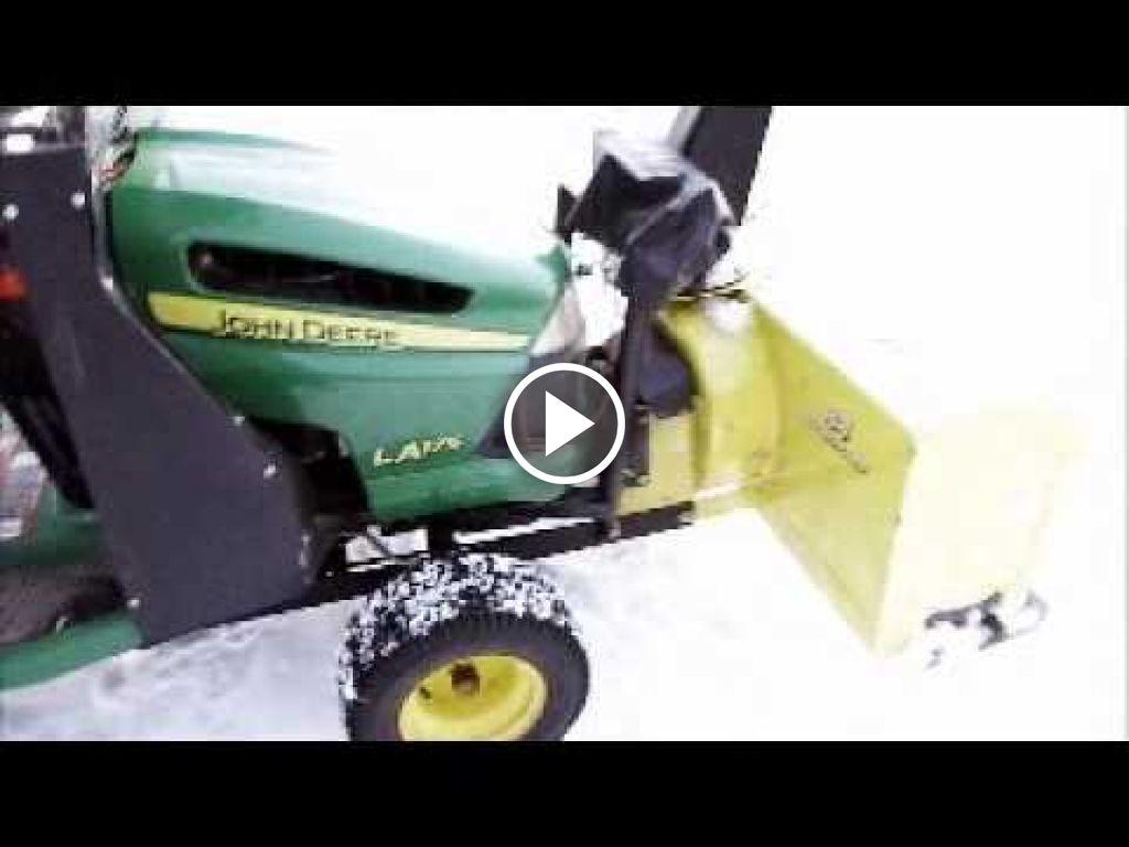 Video John Deere Grasmaaier