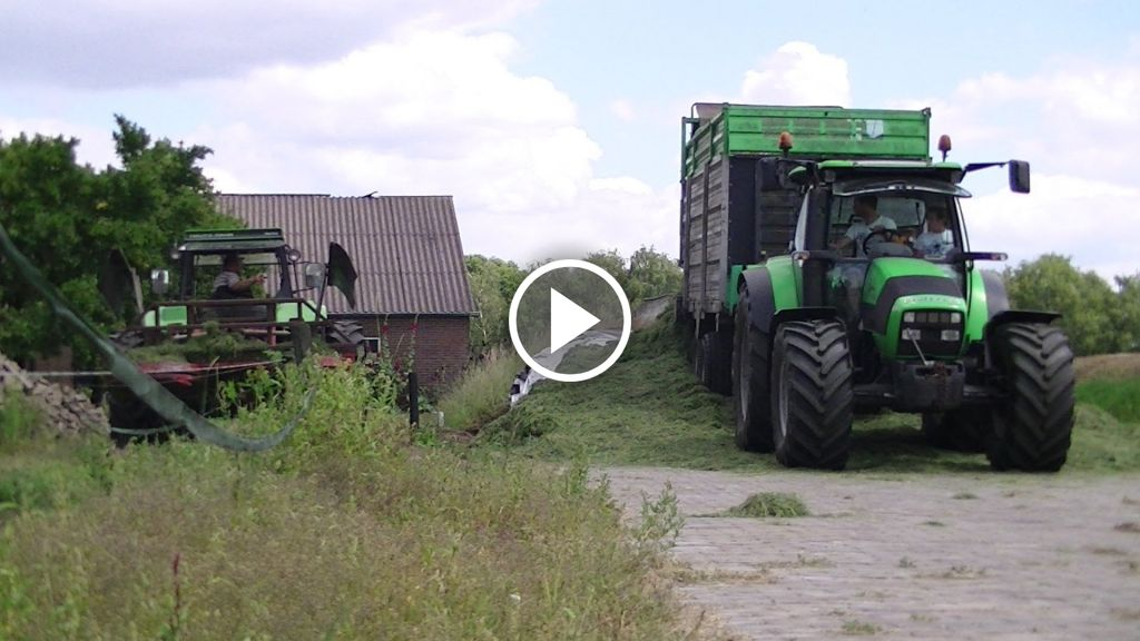 Video Deutz-Fahr Agrotron 110