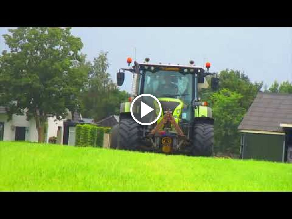 Video Claas Arion 550