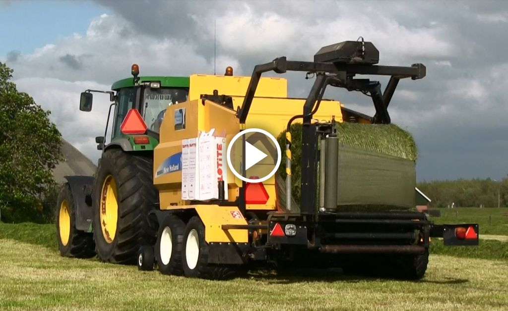 Video New Holland Pers-wikkelcombi