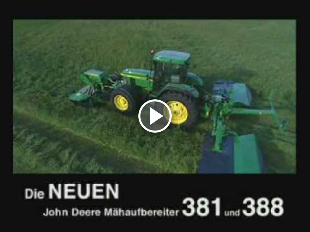 Video John Deere Triple-maaier