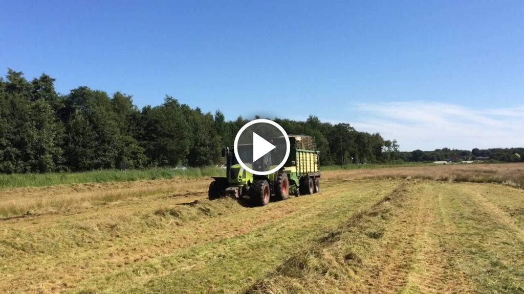 Video Claas Ares 557 ATZ