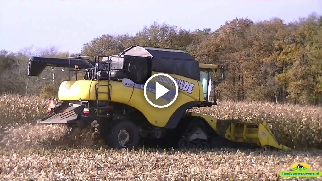 Video New Holland CR 9060