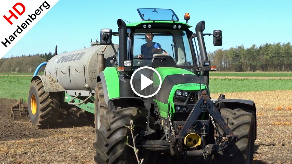 Video Deutz-Fahr Agrotron 6160