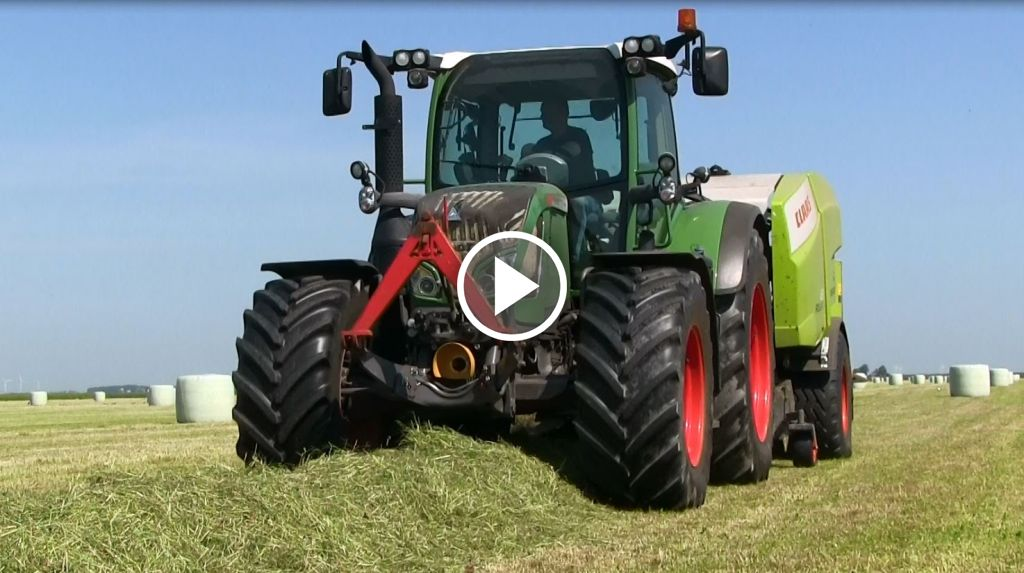 Video Claas  Rollant 375 Uniwrap