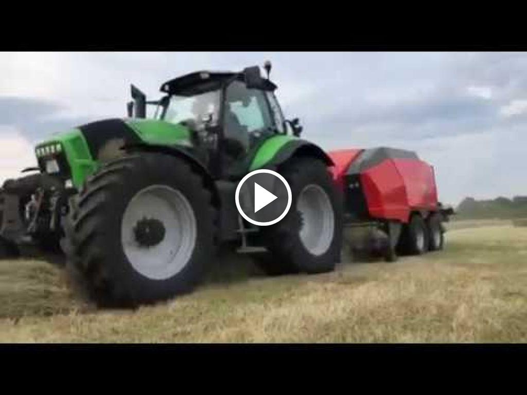 Video Deutz-Fahr Agrotron X 720