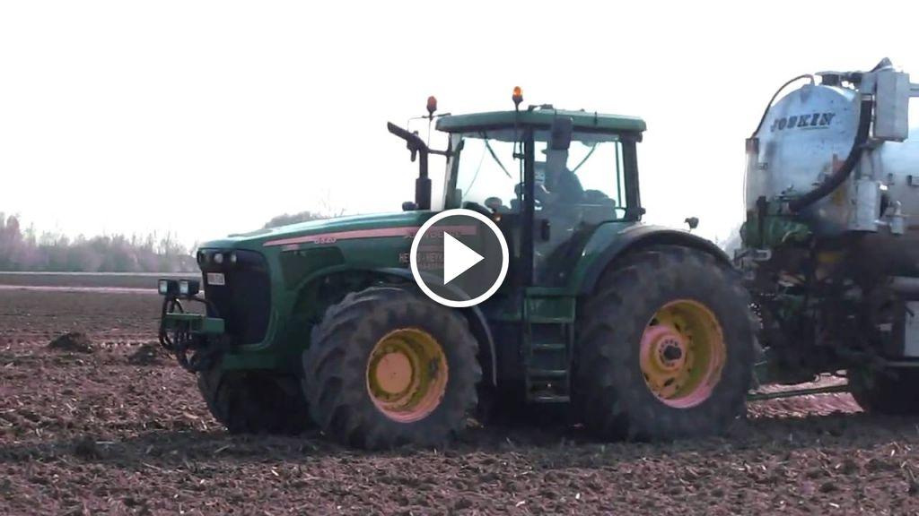Wideo John Deere 8320