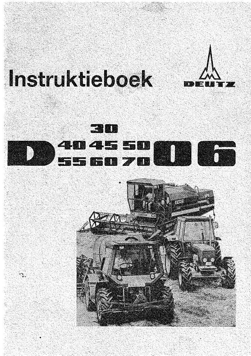 Instructieboek - Deutz 06 serie