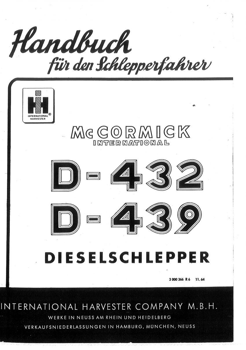 Brochure - Mc-Cormick D 439